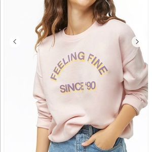 Feeling Fine Graphic Top